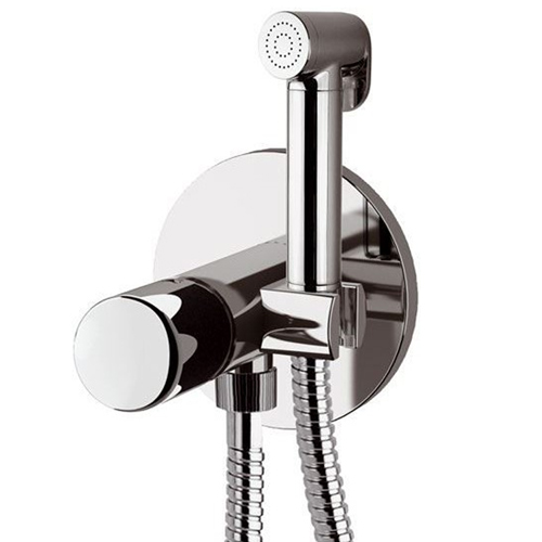 Built-in single lever mixer with shut-off shower shiny chrome<br>AN: FU6454DCCR