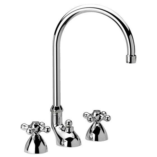 3-holes washbasin mixer chrome with pop-up waste,<br>AN: V5100CR