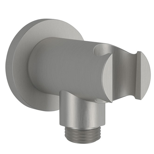 Built-in wall elbow with shower holder entirely produced in stainless steel<br>AN: SSA546