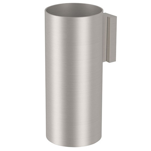 Wall mounted toothbrush tumbler entirely produced in stainless steel<br>AN: SSTXPB940