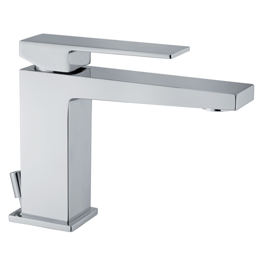 Single lever washbasin mixer chrome with up and down pop-up waste, <br>AN: PE830101015