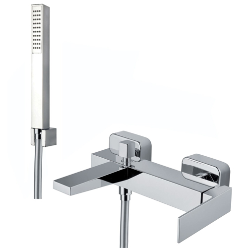 Single lever bathtub mixer chrome with shower set,<br> AN: PE850101015