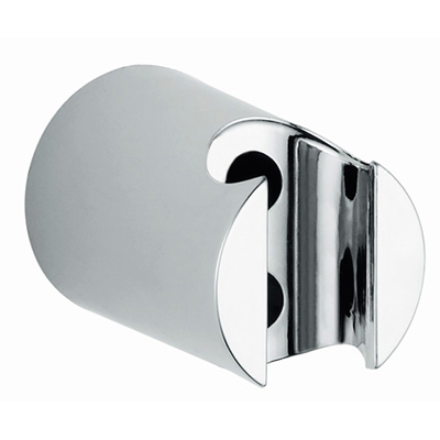 Wall-mounted shower holder round chrome,<br>AN: 35SUPO04