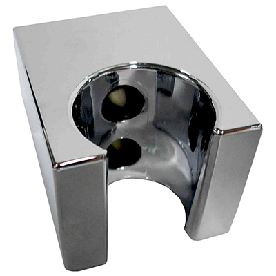 Wall-mounted shower holder square chrome,<br>AN: 35SUPO09