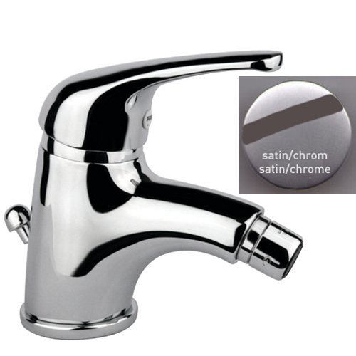 Single lever bidet mixer satin / chrome with pop-up waste,<br>AN: 39SC3210