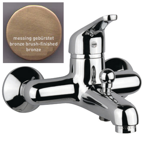 Single lever bathtub mixer bronze brush-finished,<br>AN: 39ZZ1010
