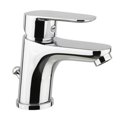 Single lever washbasin mixer chrome with pop-up waste, <br>AN: 81CR8120