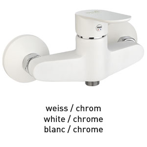 Single lever shower mixer white / chrome, <br>AN: 81WX6511