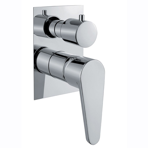 3-ways built-in shower mixer with diverter chrome for bath or shower,<br>AN: 88CR7501