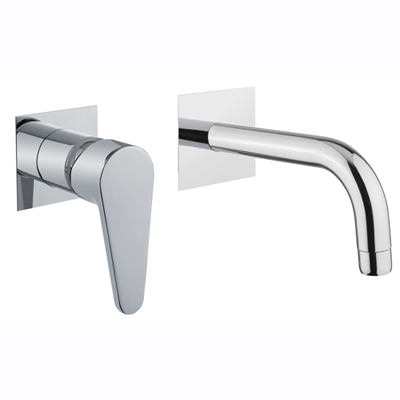 Built-in single lever mixer with spout chrome,<br>AN: 88CR7527