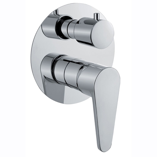 3-ways built-in shower mixer with diverter chrome for bath or shower,<br>AN: 88CR7561