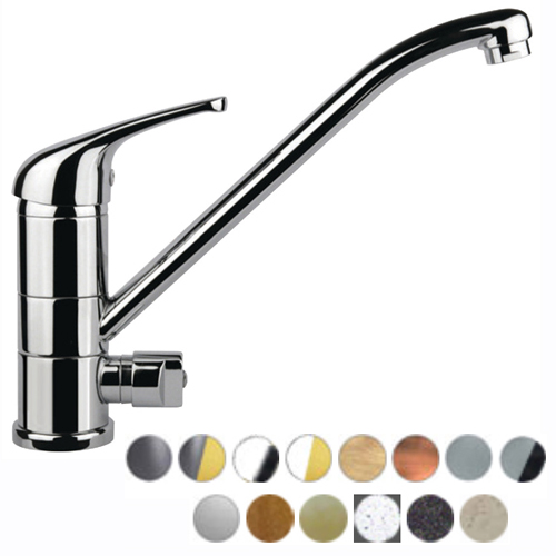 Low pressure single lever sink mixer with connection for dishwasher or washing machine in many colors,<br>AN:  39__4181