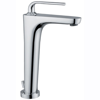 Single lever washbasin mixer extra high chrome with pop-up waste, <br>AN: 87CR5517