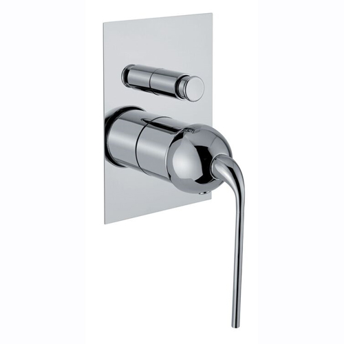 Single lever built-in mixer chrome with diverter for shower or bath,<br>AN: 87CR7517
