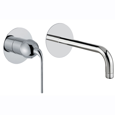 Built-in single lever mixer with spout chrome,<br>AN: 87CR7535