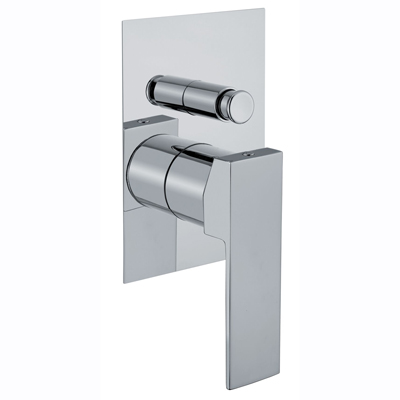 Single lever built-in mixer chrome with diverter for shower or bath,<br>AN: PE860101015