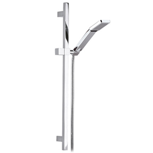Square slidung rail shower set chrome,<br>AN: 317S317SQ