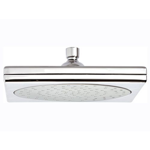 Square shower head chrome-satin,<br>AN: 356SX