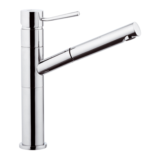 Single lever sink mixer with pull-out spray chrome,<br>AN: N47