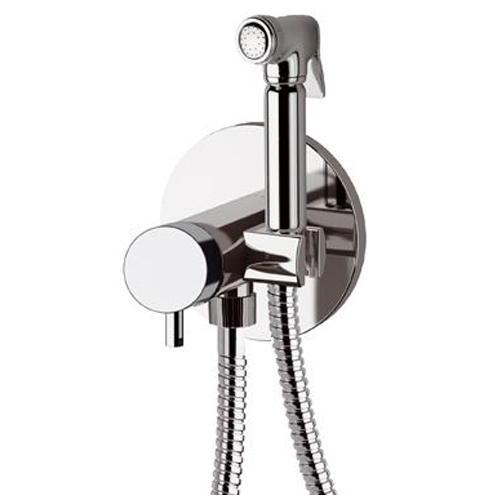 Single lever built-in mixer with shut-off handshower chrome,<br>AN: N65