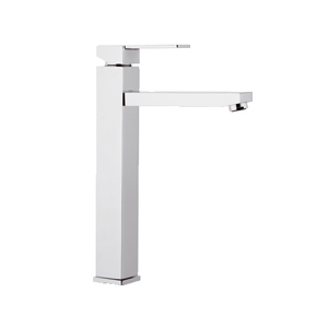 High square single lever washbasin mixer chrome, <br>AN: Q11L