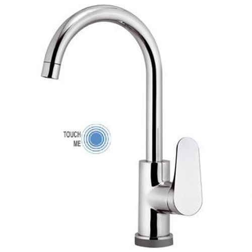 Sink mixer chrome with TOUCH-ME technology,<br>AN: LT72