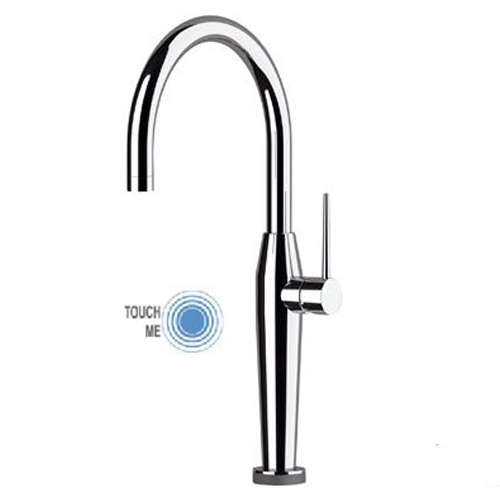 Sink mixer chrome with TOUCH-ME PRO technology,<br>AN: NKT72