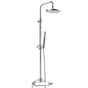 Wellness single lever shower mixer with column, shower head and handshower chrome,<br>AN: AZ870105015