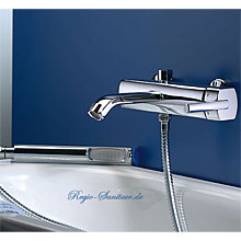 Single lever bathtub mixer chrome with shower set,<br>AN: AZ850101015