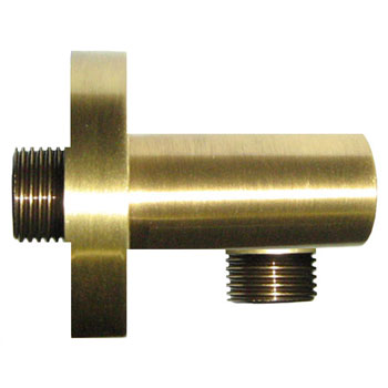 Cylindrical wall elbow bronze brush-finished,<br>AN: AC0344065