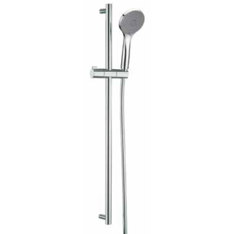 Cylindrical slidung rail shower set chrome,<br>AN: AC0929015