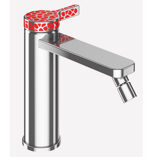 Single lever bidet mixer chrome and stainless steel with up and down pop-up waste,<br>AN: CO840101015_846
