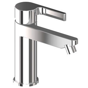 Single lever bidet mixer chrome with pop-up waste, <br>AN: DR840101015