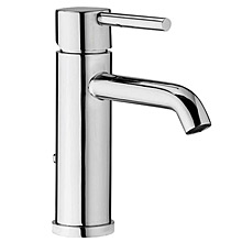 Single lever washbasin mixer chrome with pop-up waste,<br>AN: EL830101015