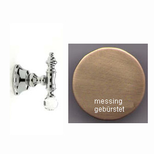 Wall mounted hook bronze brush-finished with original Swarovski Crystal,<br>AN: KA500401065