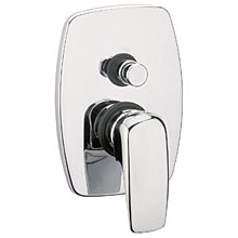 Single lever built-in mixer chrome with diverter for shower or bath,<br>AN: KI860101015