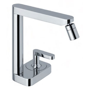 Single lever bidet mixer chrome with up and down pop-up waste,<br>AN: LV840101015