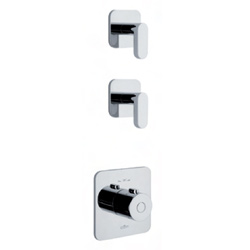 2-ways built-in thermostatic mixer chrome for bath or shower,<br>AN: LV971402015