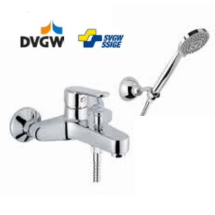 Single lever bathtub mixer chrome with shower set,<br> AN: SI850101015