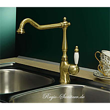 Nostalgic single lever sink mixer bronze brush-finished,<br>AN: VA920301065